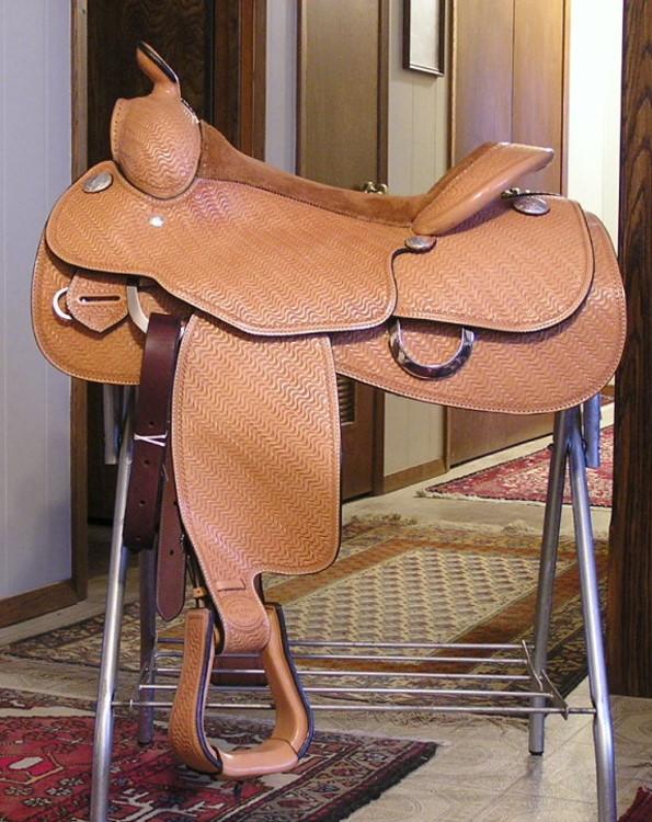 Side Saddle at the Bar U 2014